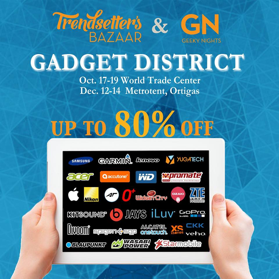 Trendsetters, Prepare For Gadget District Holiday Series Sale!