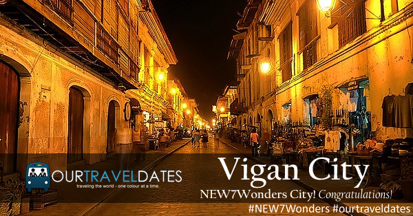 Vigan City, Now Part Of The New 7 Wonders Cities!