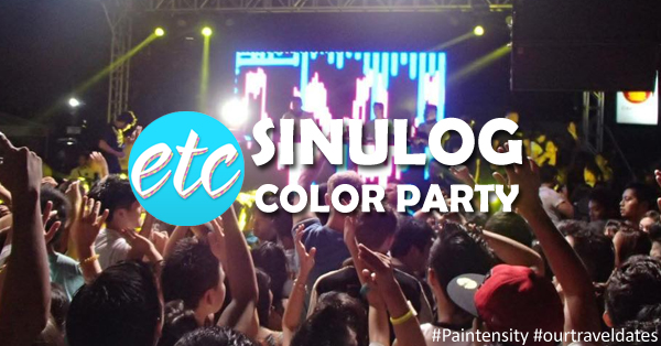 ETC Presents: Paintensity 2015, Sinulog Color Party