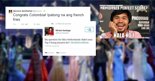The Most Hilarious & Bitter Posts About Losing To Miss Universe 2014!