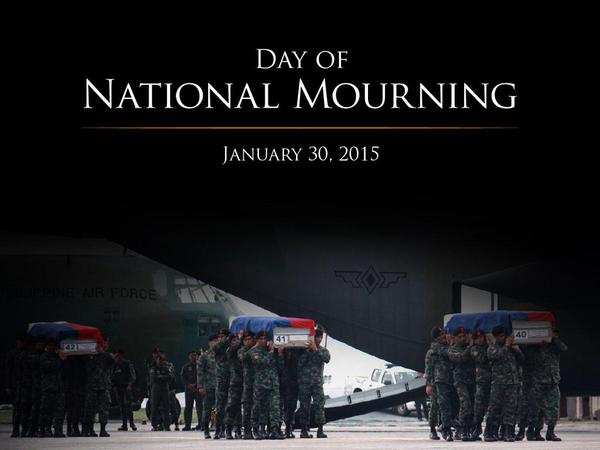 Support National Day Of Mourning With #Fallen44 Badge