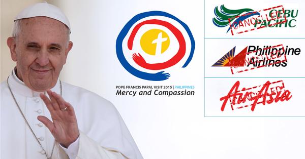 Papal Visit 2015 Cancelled Flights Checker