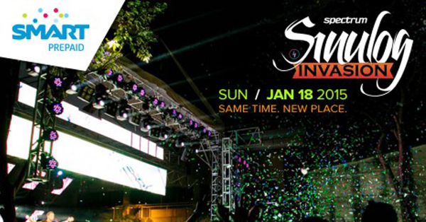 Spectrum Presents: Party Hard With Sinulog Invasion 2015