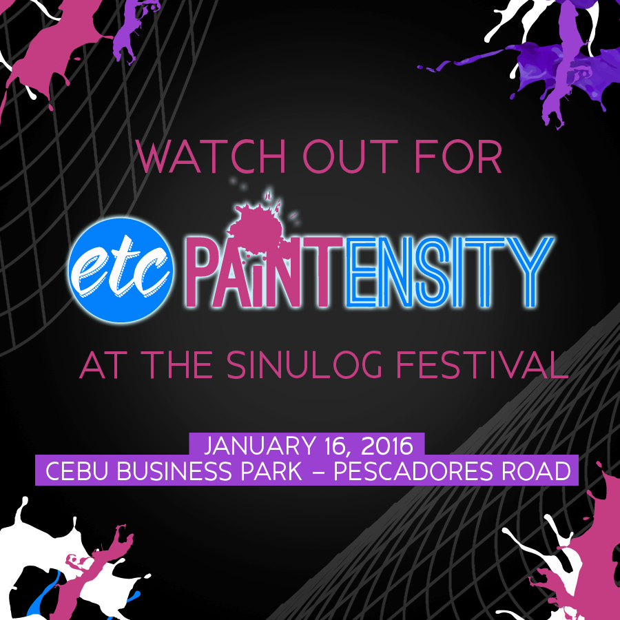 ETC Presents Sinulog Cebu Paintensity 2016
